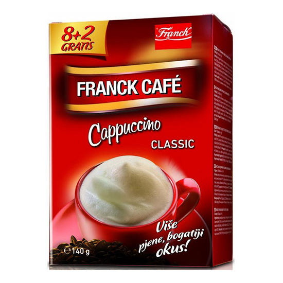 franck cafe cappuccino classic
