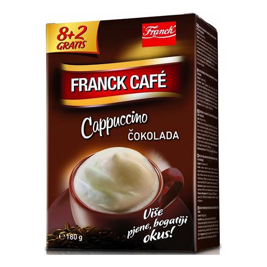 franck cafe cappuccino čokolada