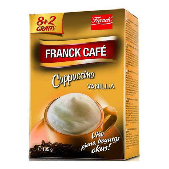 franck cafe cappuccino vanilija