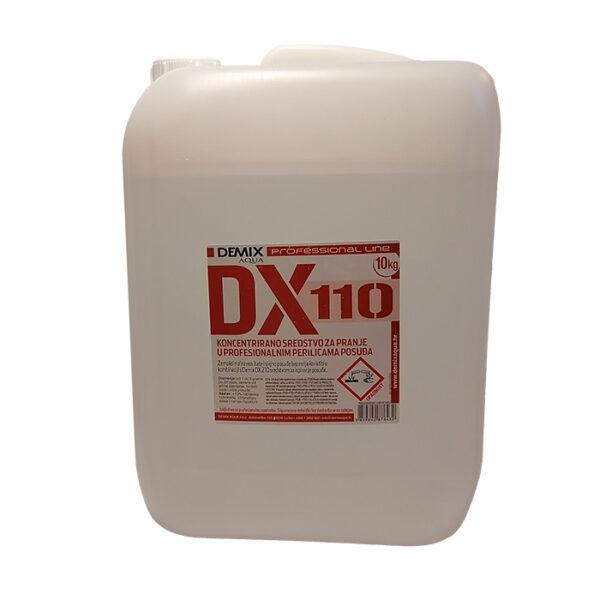 DX-110 sredstvo za strojno pranje posuđa 10 l