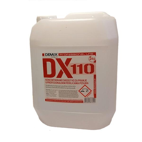 DX 110-Sredstvo za strojno pranje posuđa