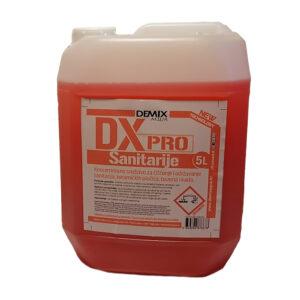 DX PRO - SANITARIJE - za čišćenje sanitarija 5 litara