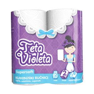 Violeta papirnati ručnici super soft 2/1